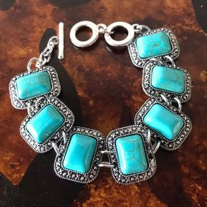 Bracelet Turquoise and Silver
